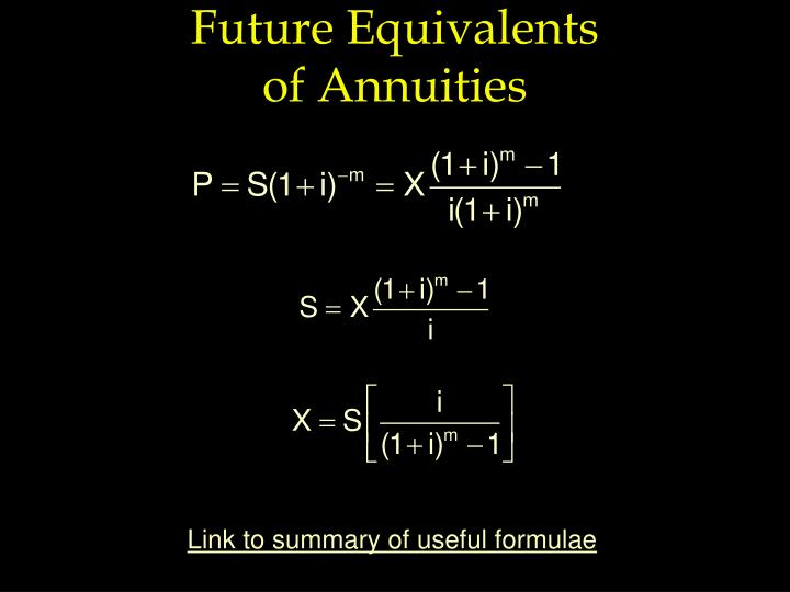 Future Equivalents