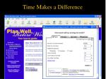 time makes a difference1