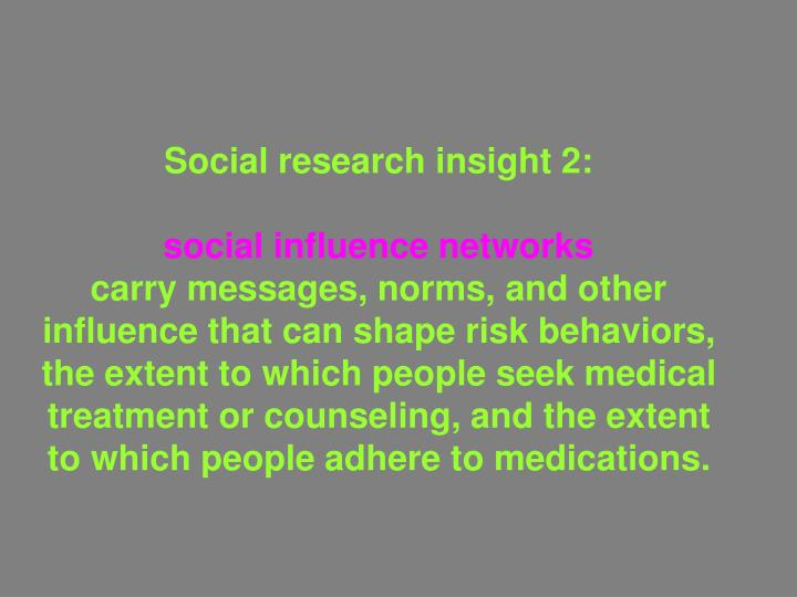 Social research insight 2: