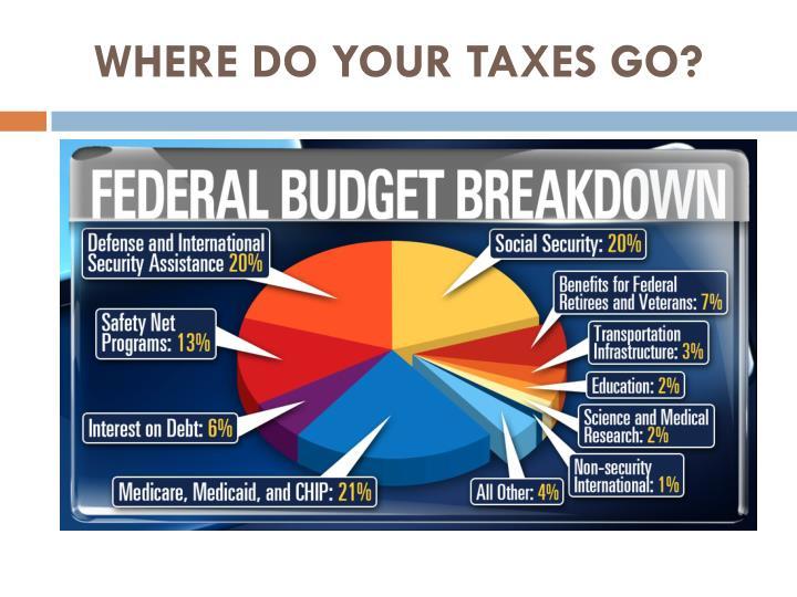 Where do your taxes go