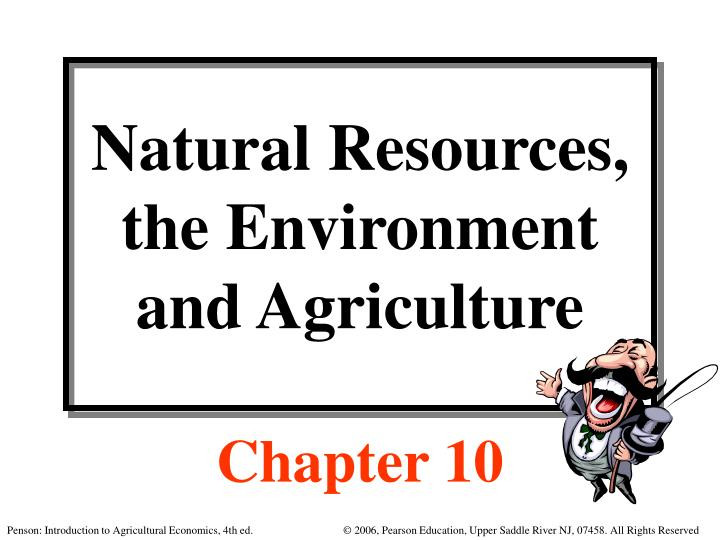 natural resources the environment and agriculture n.