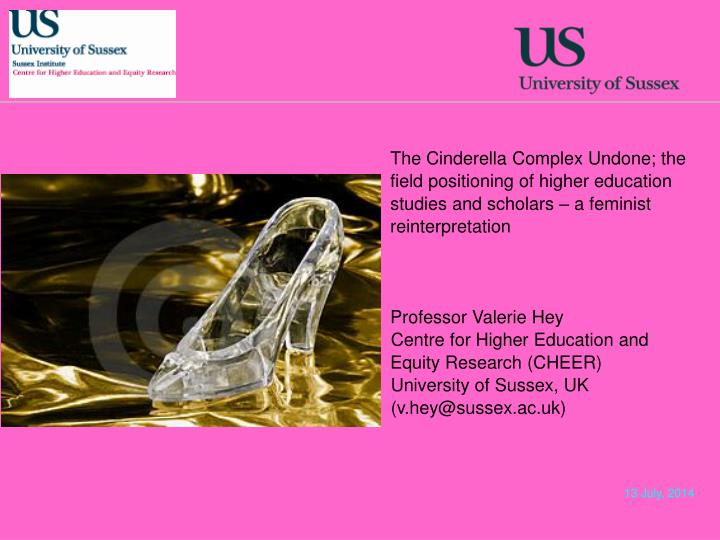 The Cinderella Complex Undone; the field positioning of higher education studies and scholars – a...