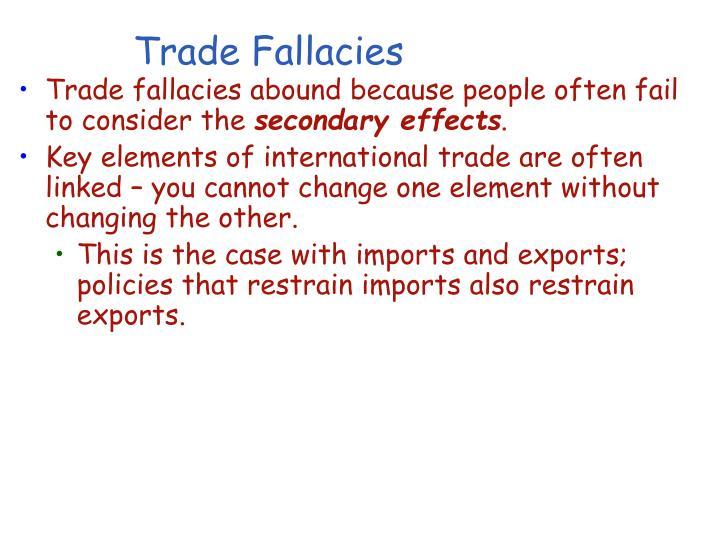 Trade Fallacies