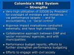 colombia s m e system strengths