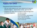 apply for eas