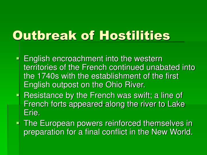 Outbreak of Hostilities