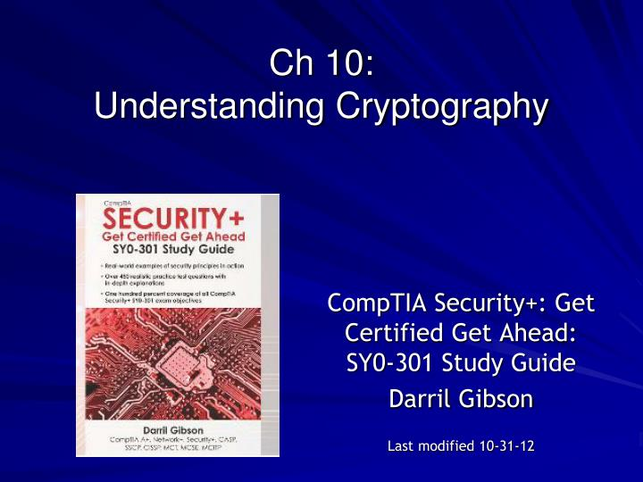 ch 10 understanding cryptography n.