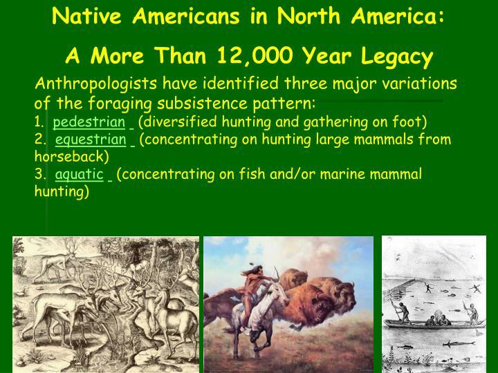 Native Americans in North America: