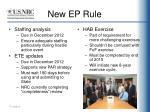 new ep rule