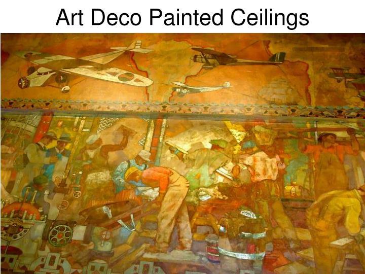 Art Deco Painted Ceilings
