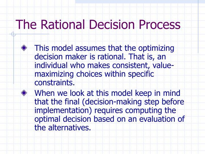 the power of rational decision making 1 rational choice 2 bureaucratic 3 decision process 4 political understanding the role of power in decision making jeffrey pfeffer jeffrey pfeffer.
