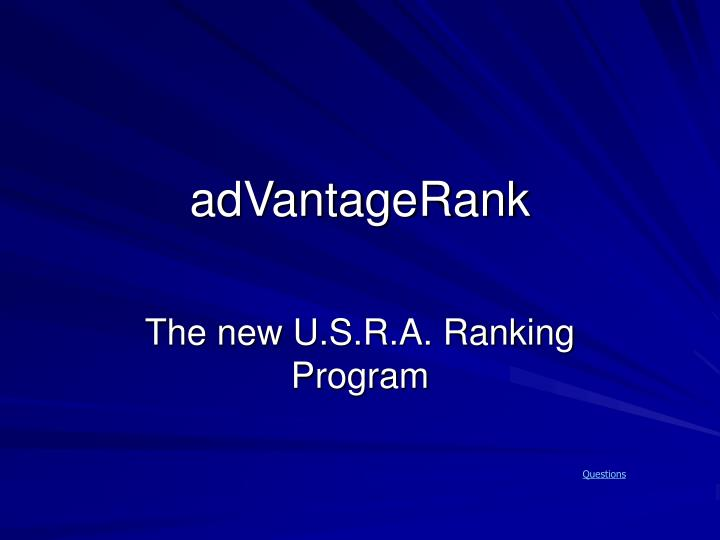 adVantageRank