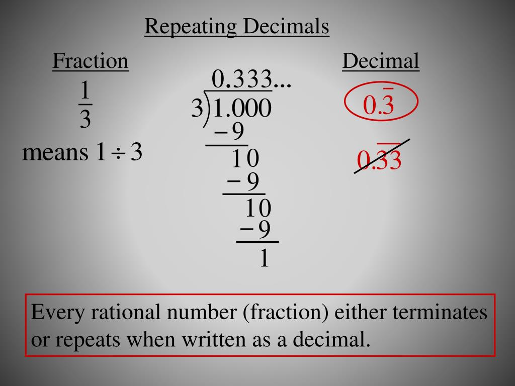 PPT - Making Sense of Rational and Irrational Numbers ...