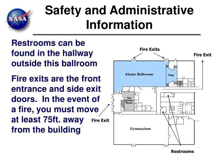 Safety and Administrative Information