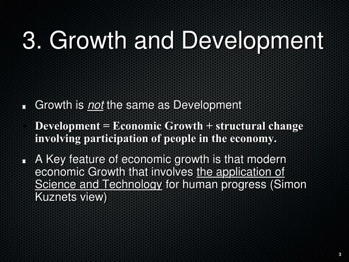question define economic growth and development and Economists apply both qualitative and quantitative economic analysis to topics within a variety of fields, such as education, health, development, and the environment some economists study the cost of products, healthcare, or energy, while others examine employment levels, business cycles, exchange rates, taxes, inflation, or interest rates.