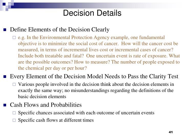 Decision Details