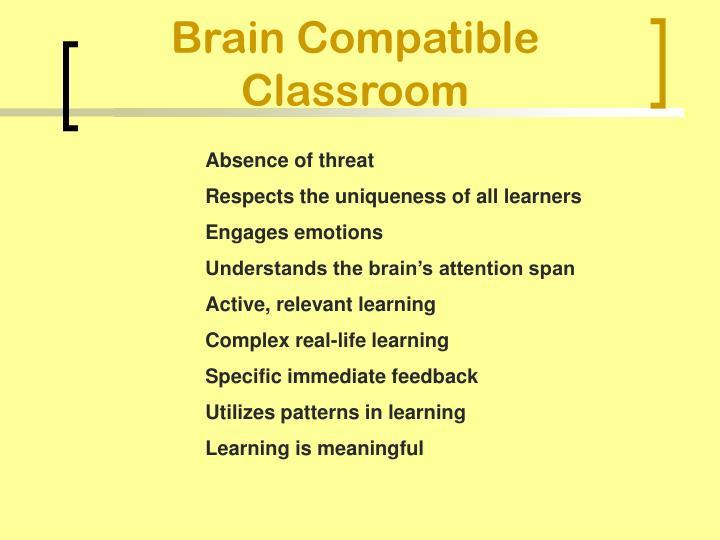Brain Compatible Classroom