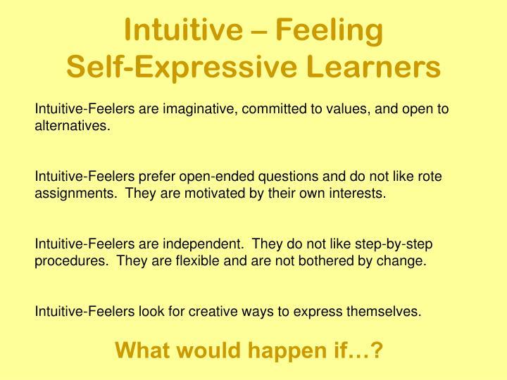Intuitive – Feeling