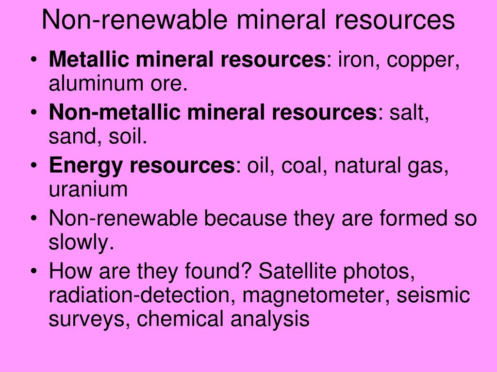 PPT - Chapter 16: Geology and Mineral Resources PowerPoint
