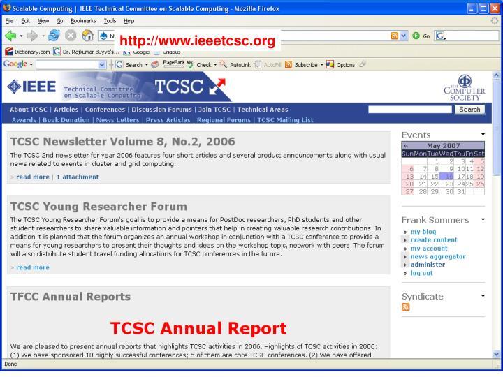 Http://www.ieeetcsc.org