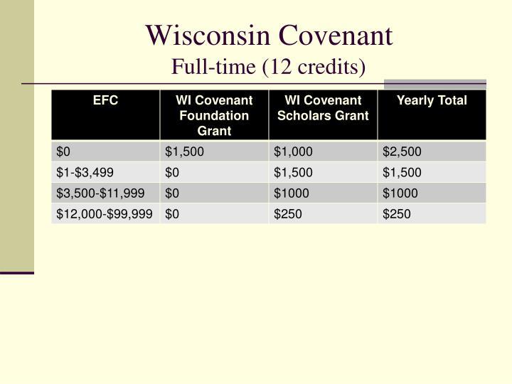 Wisconsin Covenant
