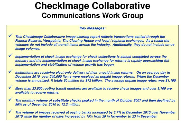 CheckImage Collaborative