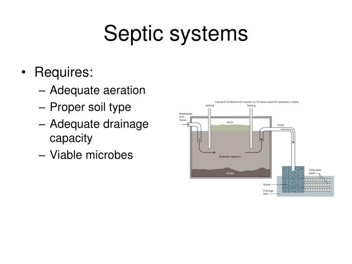 Ppt the very basics of microbial ecology powerpoint for Septic tank basics