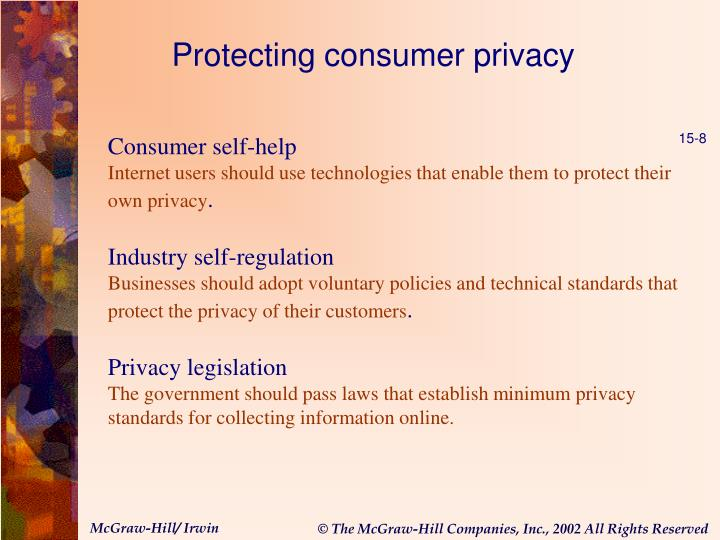 Protecting consumer privacy