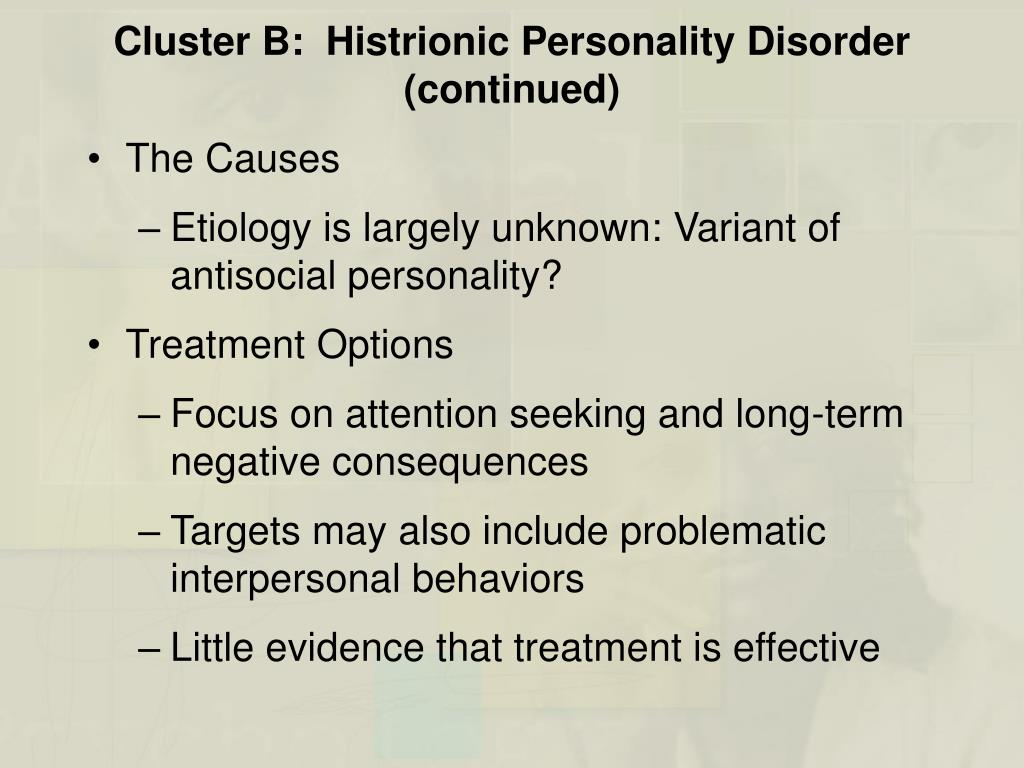 PPT - Chapter 11 Personality Disorders PowerPoint