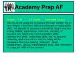 academy prep af