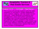 hospitality tourism real estate services