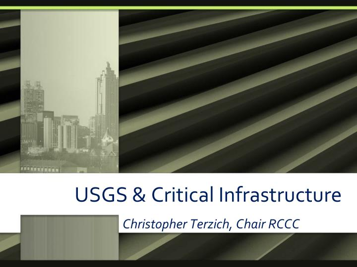 usgs critical infrastructure n.