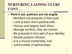 nurturing lasting clubs cont4