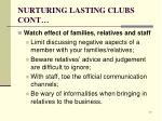 nurturing lasting clubs cont7