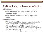 5 3 bond ratings investment quality