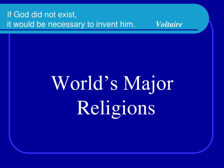 voltaire religion essay One of the advantages to voltaire writing candide as a satire instead of a philosophical essay was writing in this manner gave voltaire the opportunity to make fun of the rich and famous, religion, and.