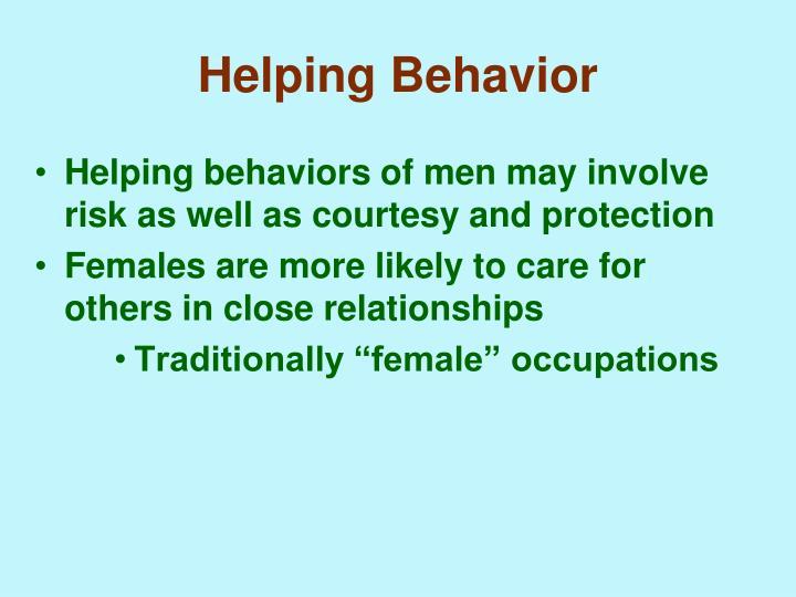 Helping Behavior