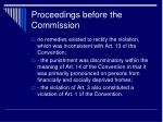 proceedings before the commission2