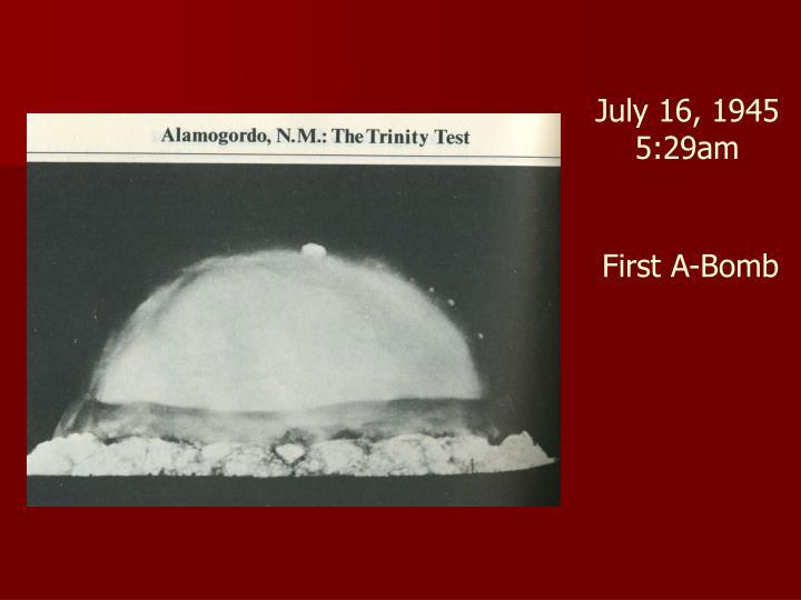 July 16, 1945