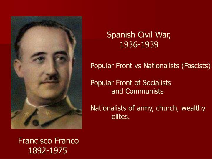 Spanish Civil War,