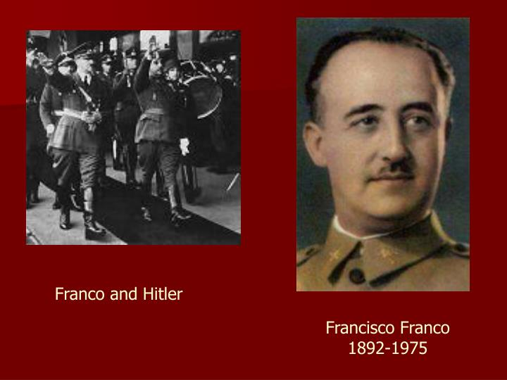 Franco and Hitler