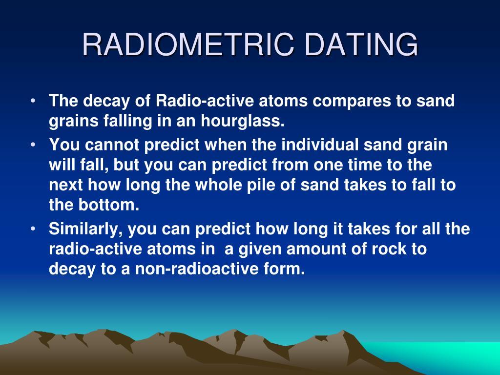 Hva er 4 typer radiometrisk dating