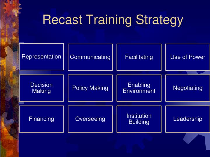 Recast Training Strategy