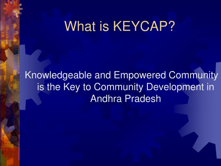 What is KEYCAP?