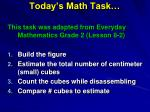 today s math task1