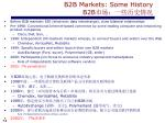 b2b markets some history b2b