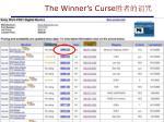 the winner s curse1