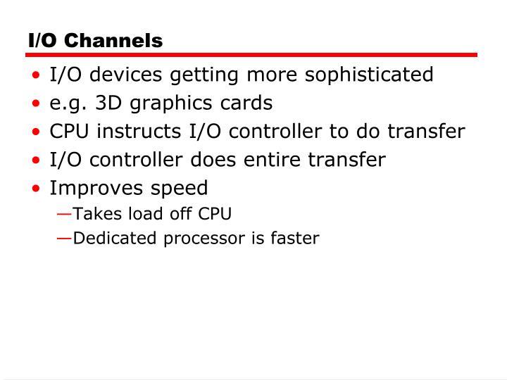 I/O Channels