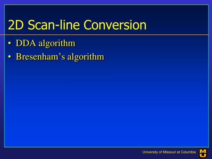 2d scan line conversion1