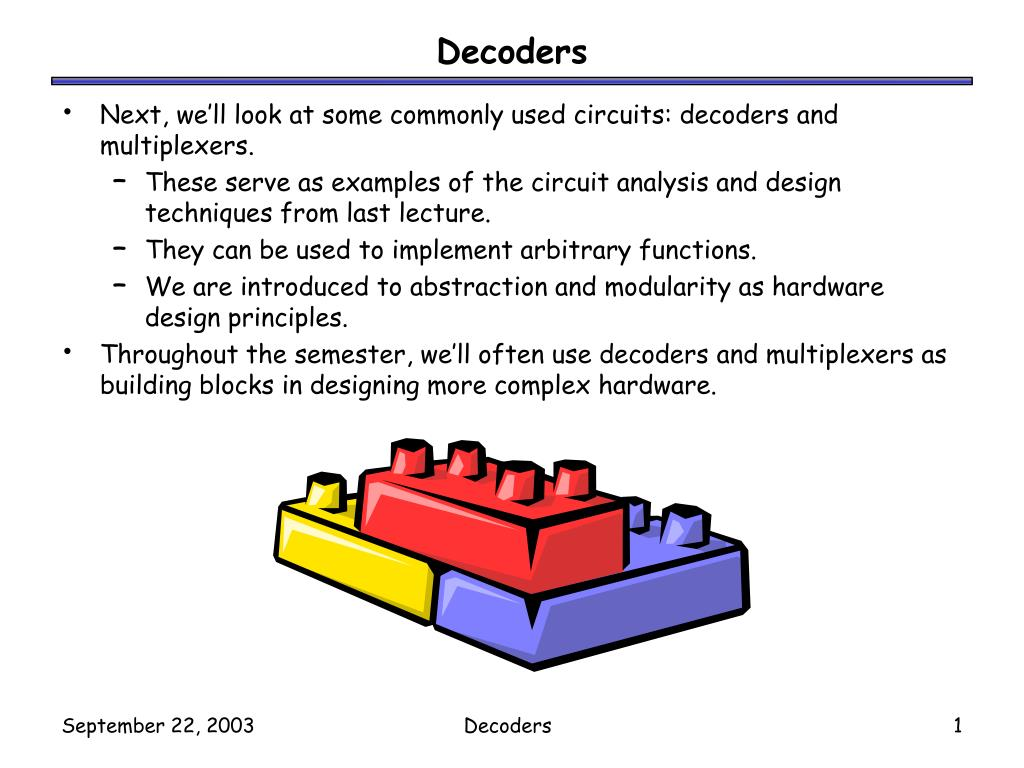 Logic Diagram For 3 8 Decoder Ppt Decoders Powerpoint Presentation Id1724094 N